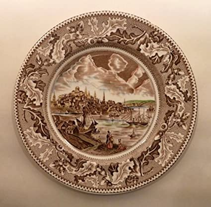Amazon.com | Johnson Brothers HISTORIC AMERICA -- MULTICOLOR Dinner ...