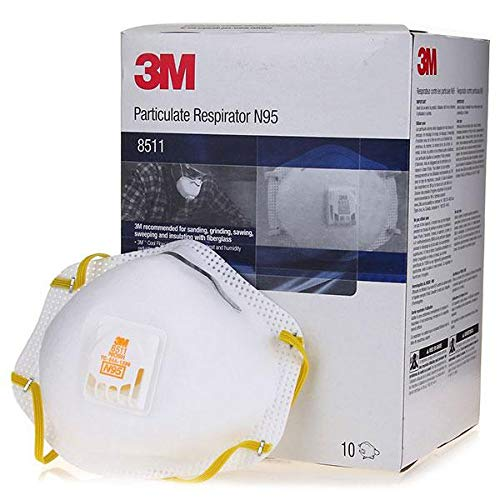 3M 8511 Disposable Series N95 Cool Flow Respirator (50/Box) by 3M Respiratory Protection (Image #3)