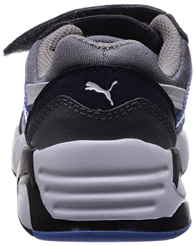 Gris Mesh Baskets white Enfant V Gray Steel R698 Puma Neoprene Sneakers UwRnp5
