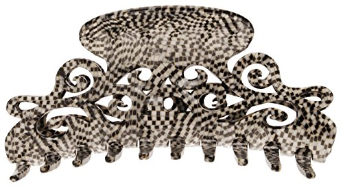 France Luxe Large Elysee Jaw - Opera Silver