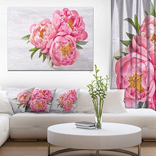 rs In Vase Floral Canvas Art Print ()