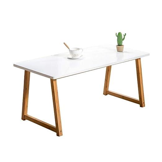 Coffee Tables Mesa Final pequeña Mesa de Comedor Blanca, Excepto ...