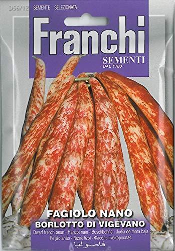 franchi Seeds Dwarf French Bean borlotto vigevano ()