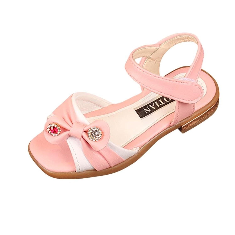 48dcabc53 30% de descuento PAOLIAN Zapatos Para Niñas Verano Sandalias de Vestir Cuero  Antideslizante Suela Blanda