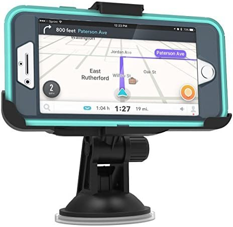Compatible with Otterbox Defender case ONLY OtterBox Defender Case 5.5 Encased Car Mount for iPhone 7 Plus /& iPhone 8 Plus