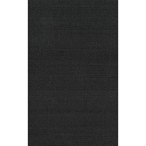 York Wallcoverings Black & White Twil SIsAl Wallpaper 8 X 10 Memo Sample, , Charcoal/Dark Chocolate
