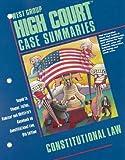 West Group High Court Case Summaries, Stephanie Ostrove, 031426194X