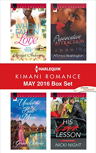 book cover of Harlequin Kimani Romance May 2016 Box Set