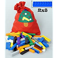 FSC 2X8 Big Building Bricks - 90 pcs Tight Fit and...