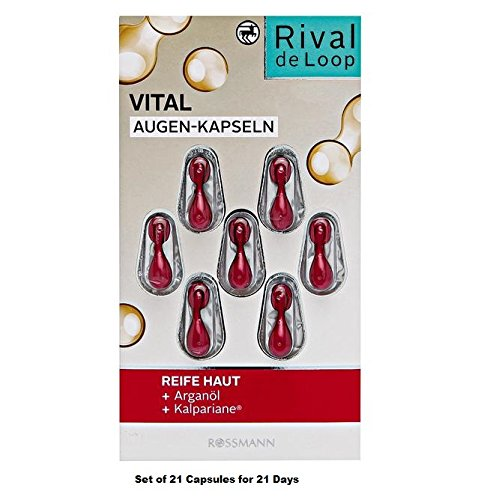 Rival de Loop Vital Eye Capsules - Pack of 3 x 7 capsules (for 21 Applications)