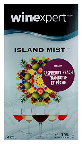 (Island Mist Raspberry Peach Sangria Wine Kit by Winexpert)