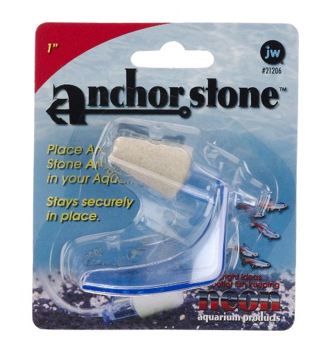 Anchor Bubbler Bubble Wand (JW Pet Company 1-Inch Anchorstone Sand Airstone Aquarium Accessory)