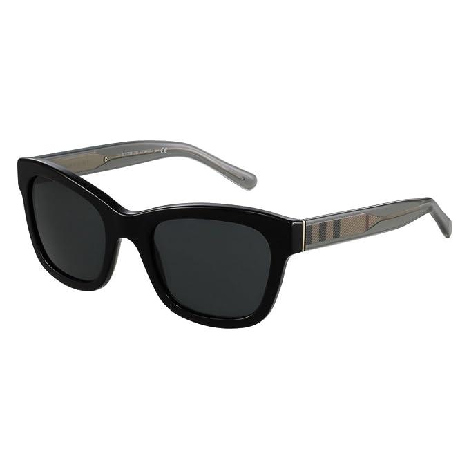 Burberry 0Be4209 300187 52 Gafas de Sol, Negro (Black/Gray ...