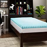 Slumber Solutions Dorm 3-inch Twin XL-size Textured Gel Memory Foam Mattress Topper Twin XL