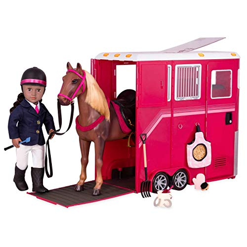 Our Generation Deluxe Riding Set