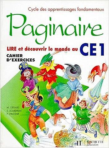 Livres Paginaire, CE1. Cahier d'exercices pdf, epub ebook