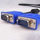 Vi.yo VGA 15 Pin Male to Male Plug Computer Monitor Cable Wire Cord 1.5M