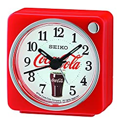 Seiko Coca-Cola Beep Alarm Clock - Red