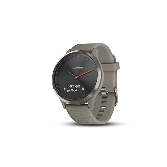 3fcfeef83b Amazon.com: Garmin vívomove HR, Hybrid Smartwatch for Men and Women ...