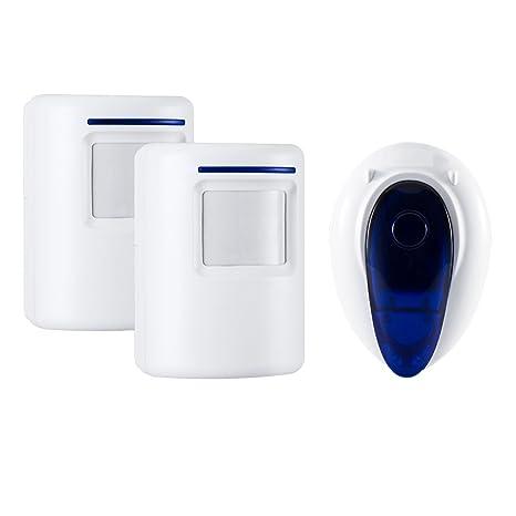 Amazon Wireless Home Security Driveway Alarm Door Entry Alert