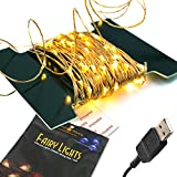 (US) BrightTouch LED Fairy Lights - String, Rope (Warm White)