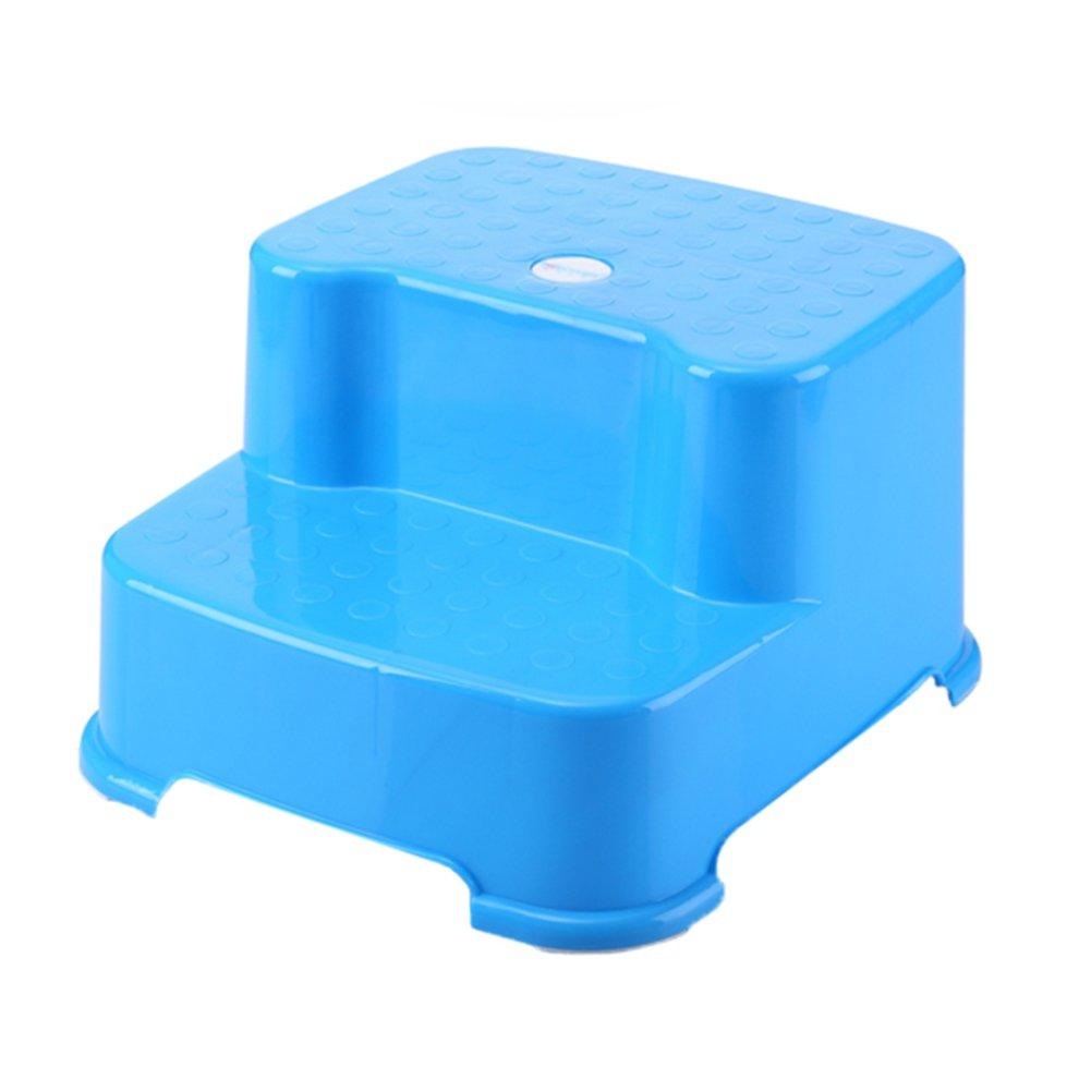 Amazon.com: 2-step Stool Child Plastic Stool Washing Hands Baby ...