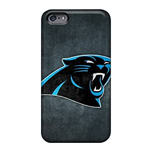 Customcases88 Apple Iphone 6s Plus Best Cell-phone Hard Cover Support Personal Customs Realistic Carolina Panthers 7 Pattern [mCk1709ksQh]
