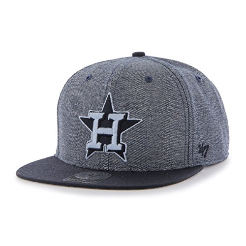 MLB Houston Astros Giovanni Captain Adjustable Snapback Hat, Navy, One Size