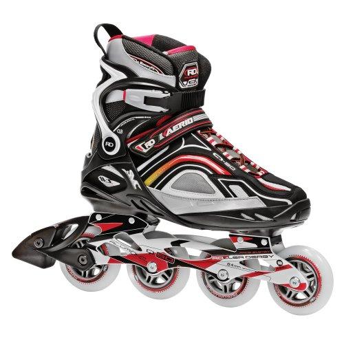 八百屋算術奇跡的なRoller Derby Aerio Q -90 Rollers pour homme Multicolore Noir/gris/rouge 10