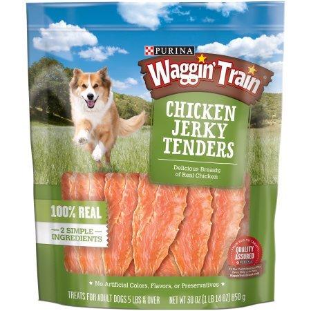 Purina Waggin' Train Chicken Jerky Tenders Dog Treats (30 oz. - 2 Pack)