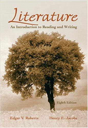 Literature an introduction to reading and writing 8th edition literature an introduction to reading and writing 8th edition edgar v roberts henry e jacobs 9780131732780 amazon books fandeluxe Gallery