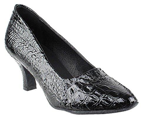 Very Fine Shoes Salsera Series SERA5513 Black Croc nCu1L