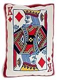 Goffa Poker Face Pillow/cushion, 22''
