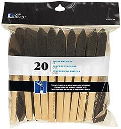 Loew Cornell 841 20-Piece Foam Brush Set, 2-Inch