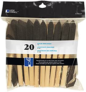 Loew Cornell 841 20-Piece Foam Brush Set, 2-Inch