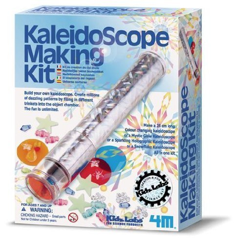 Kaleidoscope Making Kit Physics Project ()