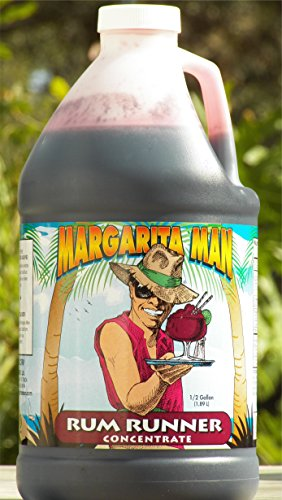 Strawberry Rum Drink (Margarita Man Rum Runner Mix)