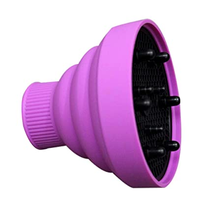 dsfeqwq Difusor de Pelo Ondulado Rizado Universal Plegable para el sal/ón port/átil del Viaje del secador de Soplo