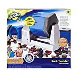 Edu Science Lab ROCK TUMBLER, New & Improved w/3 Ultra Quiet Chambers (Rocks included)