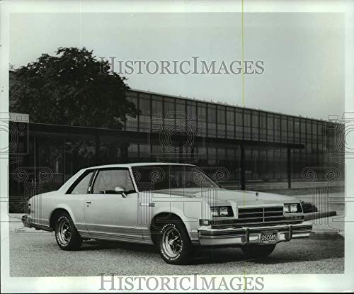 - 1977 Press Photo The 1978 Buick LeSabre Sport Coupe - mjc35584 - Historic Images