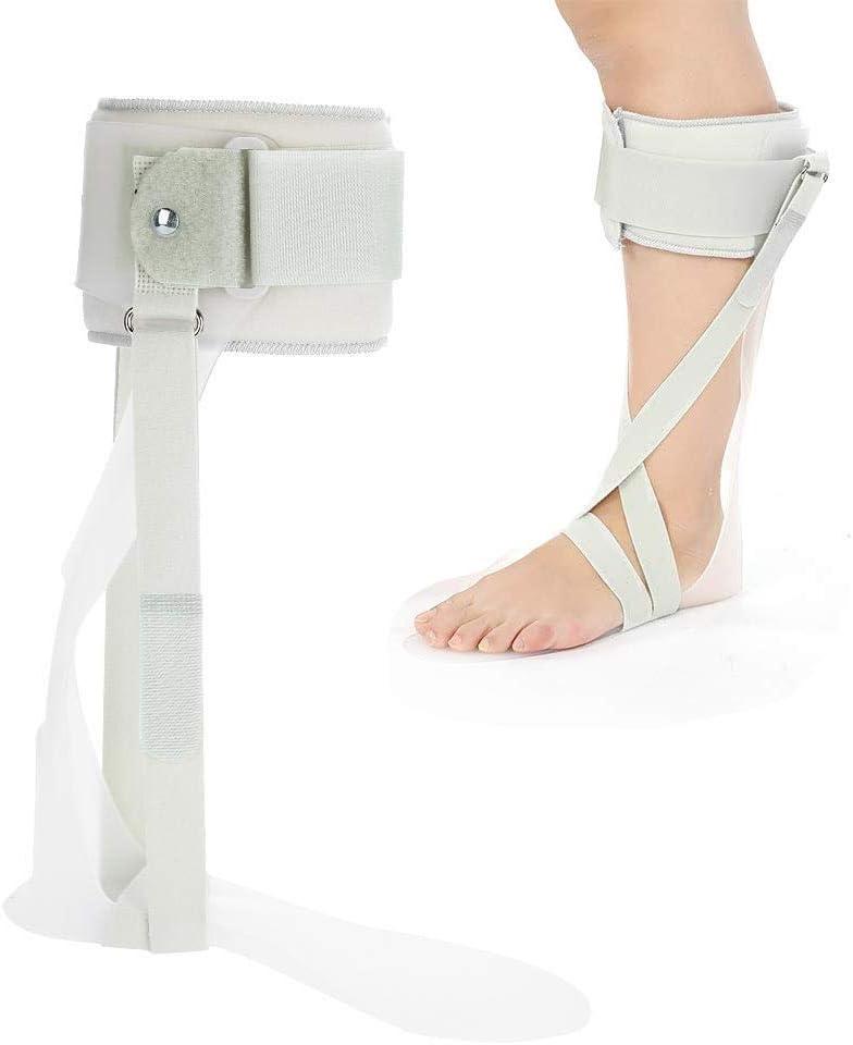 GHzzY Órtesis estándar de Tobillo y pie - AFO Órtesis de caída de pie de Tobillo Lesión nerviosa, posición del pie y Alivio de la presión - Órtesis de Tobillo y pie,Left,L