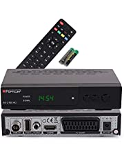 Opticum AX C100 HD DVB-C Digital Cable Receiver (HDTV, 50/60, HDMI, SCART, USB) zwart 33032