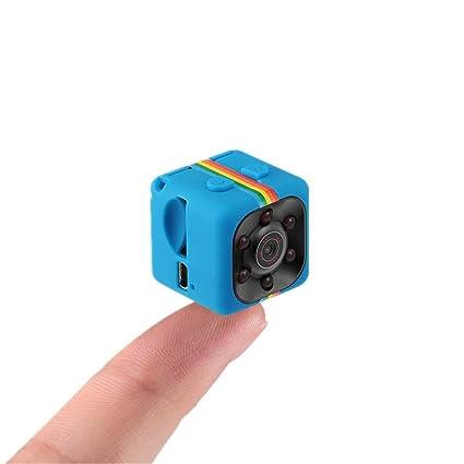 Sansnail – Mini cámara SQ11 SQ8 SQ9, cámara oculta HD, visión nocturna, 1080p