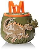 Kidorable Dinosaur Backpack, Green, One Size