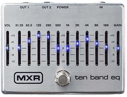 MXR M108S 10 Band Graphic EQ