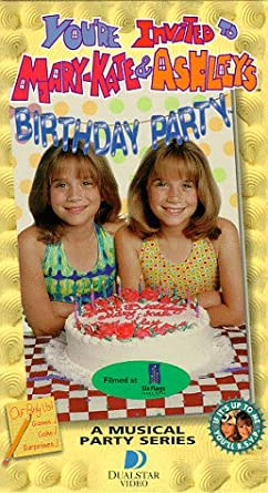 Amazon Com You Re Invited To Mary Kate And Ashley S Birthday Party