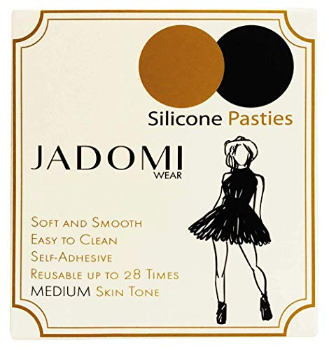 886cb97cf60f2 Amazon.com  Jadomi Wear Silicone Pasties - Medium Skin Tone Ultra Thin  Matte - 1 pair  Clothing