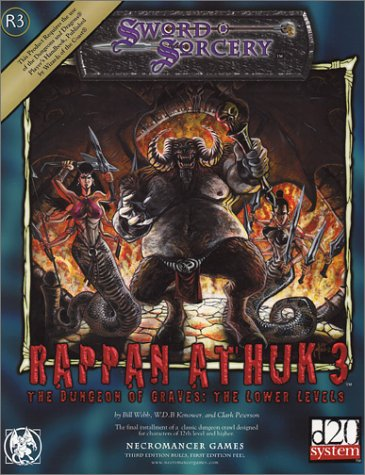 Rappan Athuk III: The Dungeon of Graves, The Lower Levels (Sword & Sorcery D20 System)