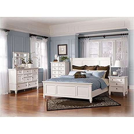 Amazon.com: Ashley B672 Prentice Bedroom Set – In Home White-Glove ...