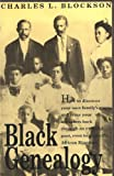 Black Genealogy, Charles L. Blockson, 0933121547